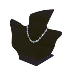 DISPLAY COLLARES SKD-091 NEGRO O TRANSPARENTE OPACO